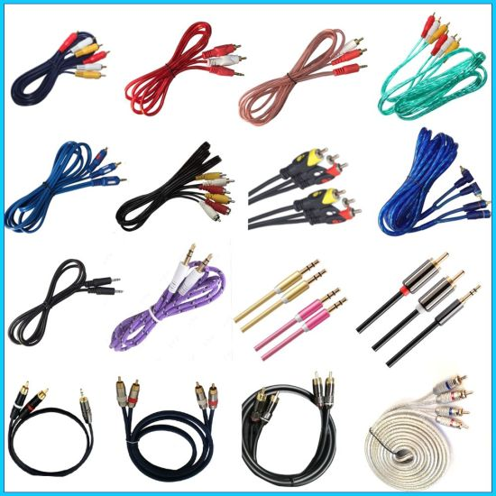 3r-3r Cable/RCA Cable/AV Cable/Audio and Video Cable