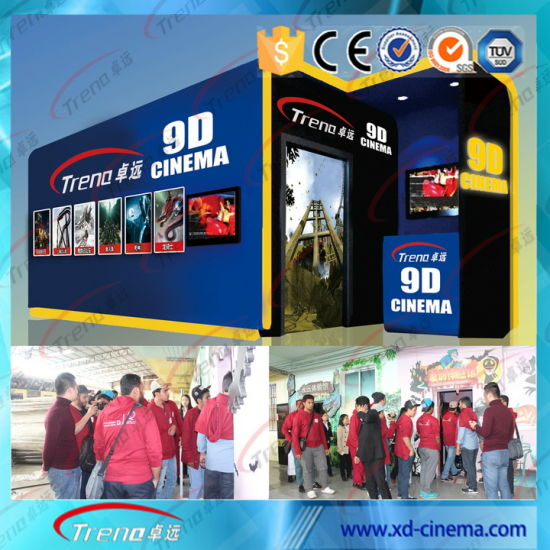 Outdoor Pocket 4D 5D 6D 7D Cinema with Prefabricated Cabin