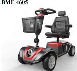 4 Wheel Handicap Vehicle Foldable Power Chair Large Disabled Electric Mobility Scooter