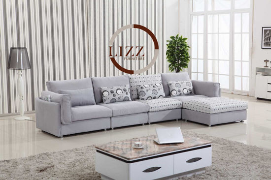 America Home Living Room Top High Quality Fabric Sofa