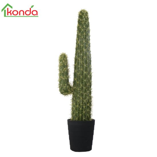 Factory Direct Artificial Cactus Topiary Potted Plant