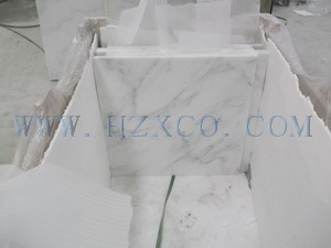 Carrara White/Statuario White/Polished Marble/White Marble/Oriental White Marble for Tile/Slab/Stair/Tread/Baluster/Sink/Monument/Vase/Basin pictures & photos