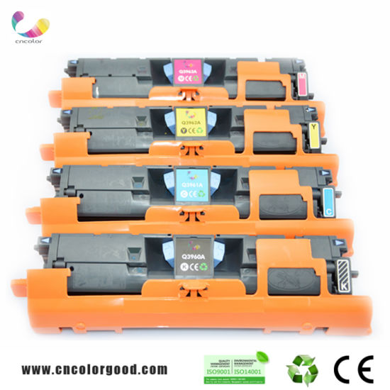 OEM Color Toner Q3960A Remanufactured Toner Cartridge for HP Printers pictures & photos