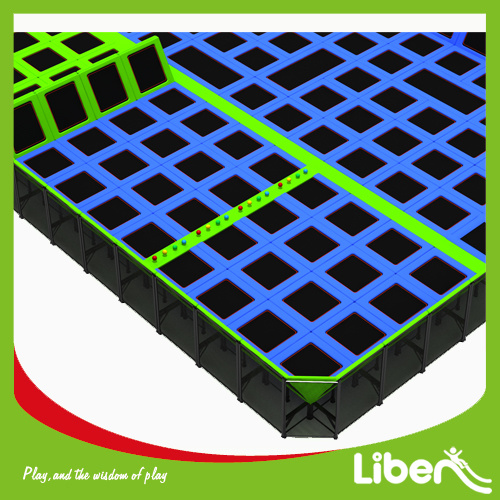 Factory Price Professional Olympic Indoor Trampolines with Dogeball pictures & photos