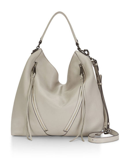 New Designer Putty Color Hobo Bag Pu Shoulder Handbags