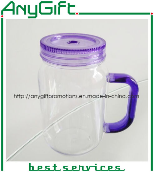 Plastic Mason Cup with Customized Color and Logo 02 pictures & photos
