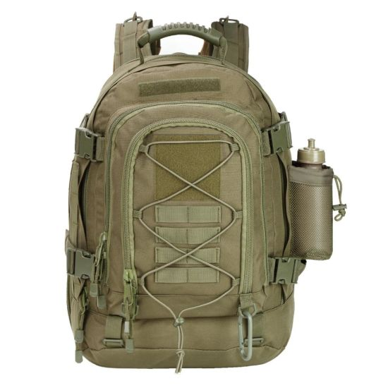 Large Military Expandable Tactical Waterproof Outdoor Travel Backpack Bag