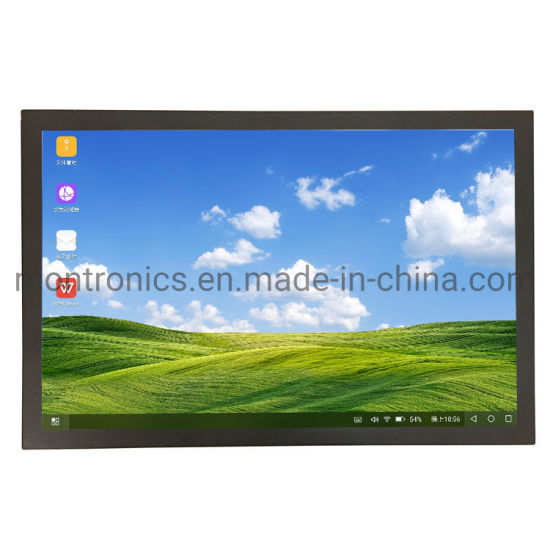 Industrial Professional IPS FHD 27 Inch CCTV LCD Monitor with 7/24 Hours Working