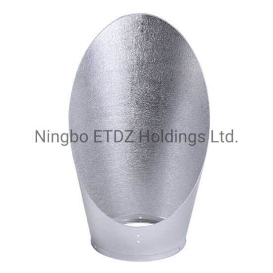 Aluminum Lampshade Spinning Stretch Customized LED Housing