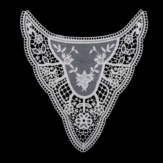 Embroidery Water Soluble Chemical Lace Collar pictures & photos