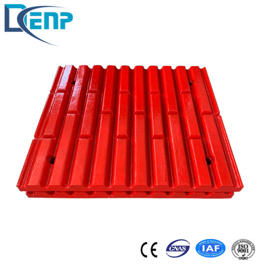 High Manganese Steel C160 Jaw Plate Spare Wear Parts