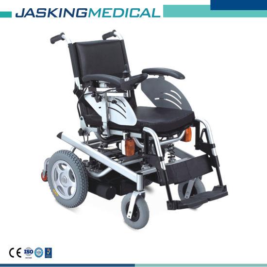 High Quality Folding Steel Electric Wheelchair (JX-033)