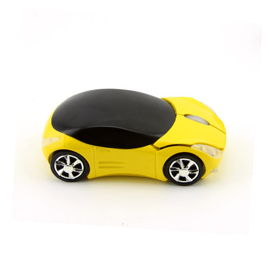 2.4GHz Wireless Mouse, 3D Mini Car Shape Mute Mouse, Tablet Computer Game Office