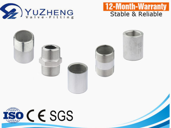 Stainless Steel High Pressure Hex Nipple 3000psi