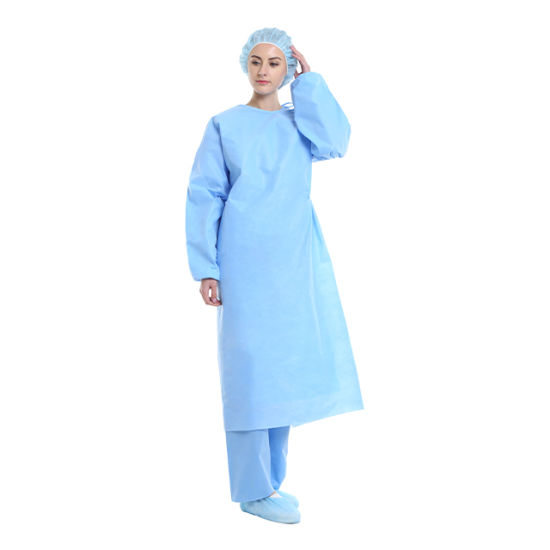 for Hospital Scrubs Disposable Non Woven Surgical Gowns