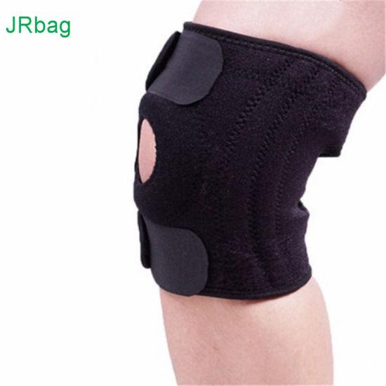 Adjustable Neoprene Compression Sleeve Knee Support for Running