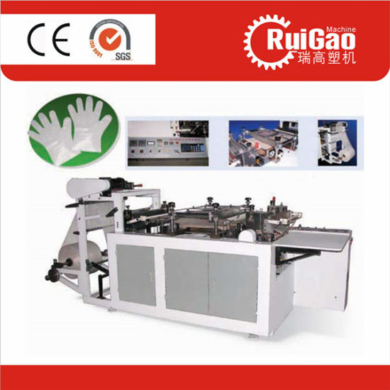 Automatic HDPE LDPE PE Disposable Plastic Glove Making Machine Price pictures & photos