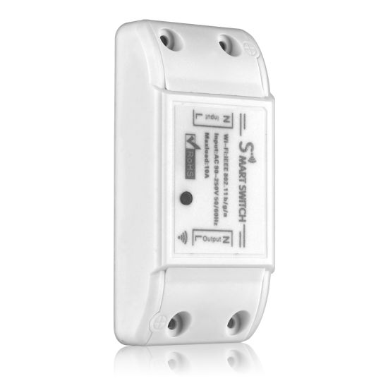Tuya Smart Life WiFi Switch 90-250V 10A WiFi Light Smart Switch Tuya Smart  Life