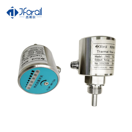 Jforall NPN Relay Water Tank Hot Water Industrial Flow Switch with LED Display