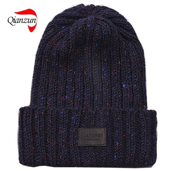 China Flatspot Aic Donegal Wool Watch Cap Black China Black