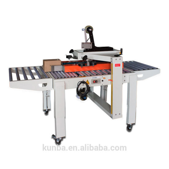 Automatic Left-Right Sealing Machine Carton Sealer Fj-5050s for Small Box pictures & photos
