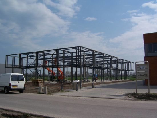 China Prefabricated Construction Design Steel Shopping Shed