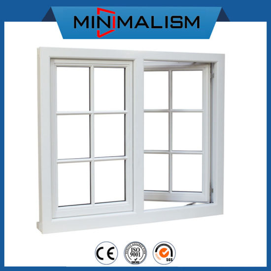 House Grill Design Aluminum Double Casement Window with 2.0mm Material