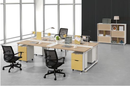 Partition Workstation Melamine Office Desk pictures & photos