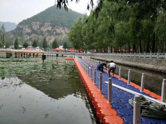 Blossom Style Water Platform Jet Ski Floating Dock Marine Supplies