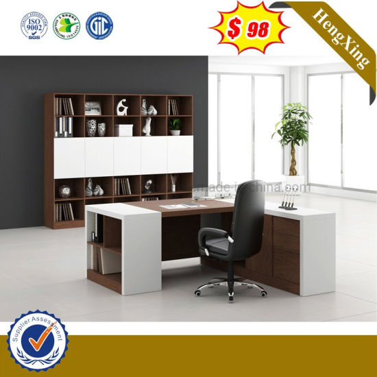 Hot Sell L Shape Melamine MDF Office Executive Table pictures & photos
