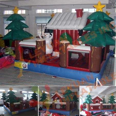 High Quality PVC Inflatable Bounce Combo Inflatable Castle Bouncer (LY-CH74) pictures & photos