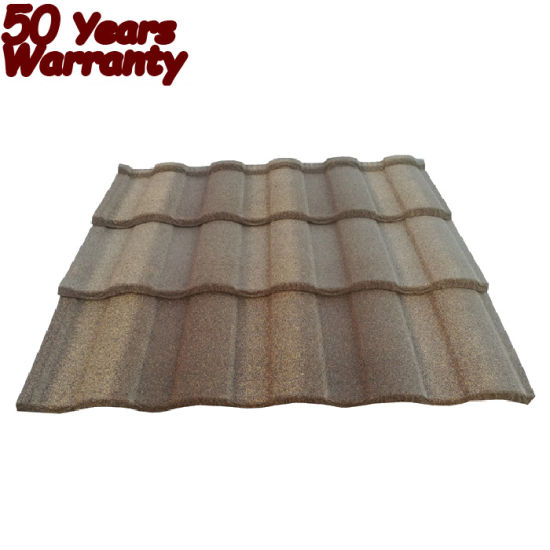 China Stone Chips Coated Steel Tile Guangzhou Building Material Metal Roofing Sheet Price In Ghana Kenya Nigeria Tanzania China Stone Chips Coated Steel Tile Guangzhou Roof Tile