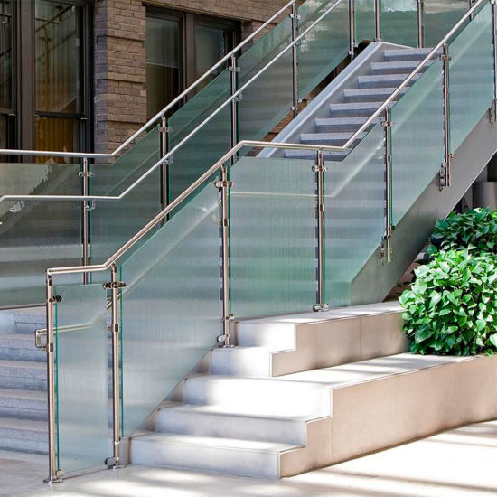 China Glass Railing Balcony Stainless Steel Railing Design ...