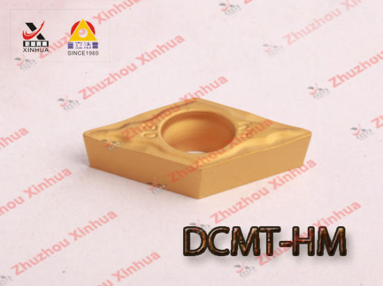 Cemented Carbide Turning Inserts Dcmt pictures & photos