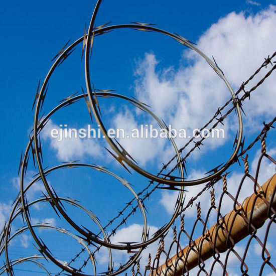 Concertina Bto Security Razor Wire Fencing pictures & photos