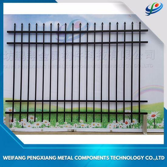 China European Metal Fence Price Ornamental Sales China Metal