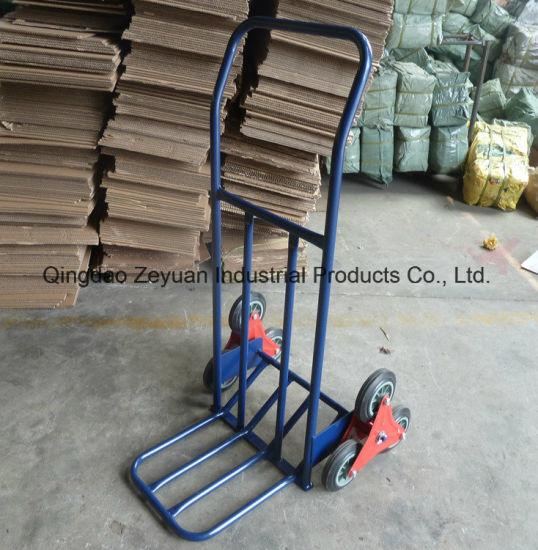 Heavy Duty Industrial 200kg Sack Truck Hand Trolley Wheel Barrow Cart Steel New