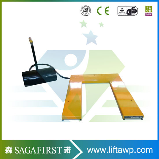 Factory Use Stationary Scissor Lift for Lifting Pallet Ce RoHS pictures & photos