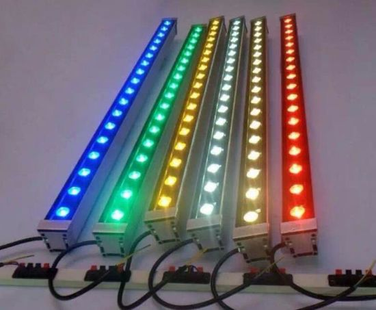 LED Outdoor Pixel Bar 18X3w RGB 3in1 LED Wall Washer pictures & photos