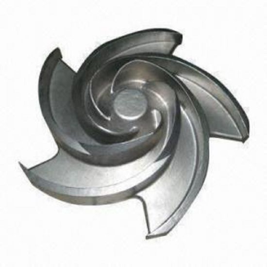 Stainless Steel Lost Wax Casting Investment Casting Centrifugal Pump Impeller pictures & photos