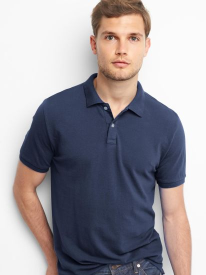 Hot Sale High Quality Solid Pique Polo Shirts for Men