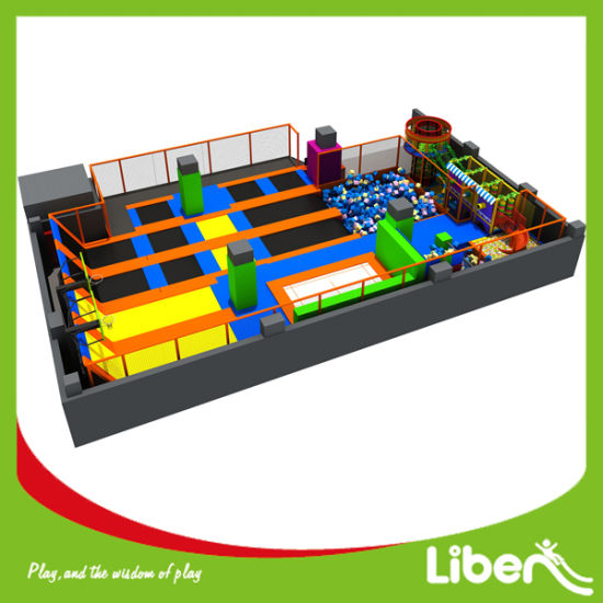Colorful Jump Mat Used Indoor Trampoline Park Manufacturer pictures & photos