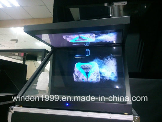 3D Holographic Display Showcase, Hologram Advertising Player