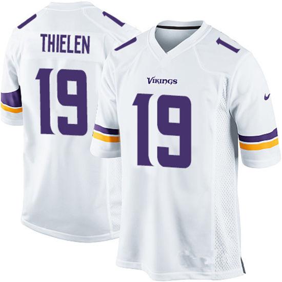 size 40 c1418 dcb6d China Custom Customized Vikings Jerseys 19 Adam Thielen ...