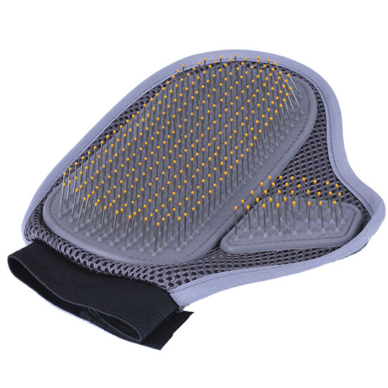 Pet Grooming Brush Cat Dog Massage Gloves Comb Hair Cleaning Grooming Pet Supplies