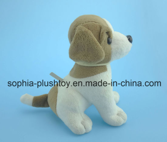 Soft Stuffed Plush Dog Toy with Dog Sound pictures & photos