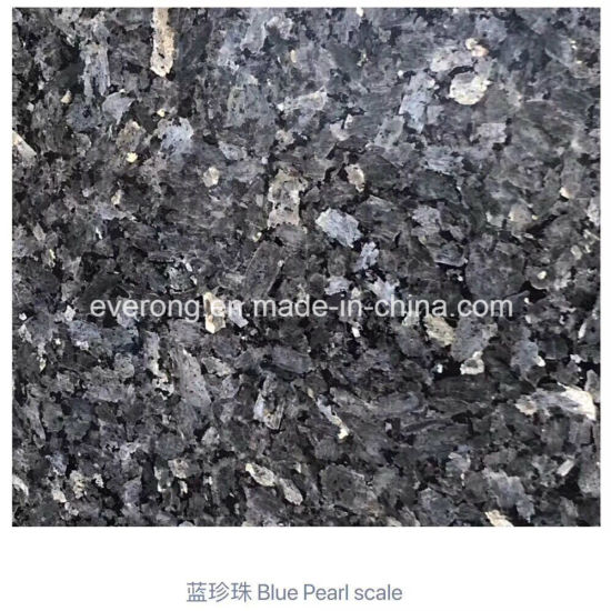 Polished Natural Blue Pearl Granite for Floor Tile/Countertop Slab pictures & photos
