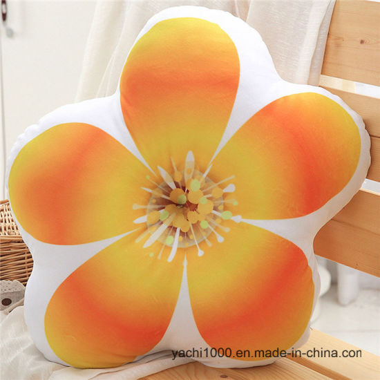 Custom Stuffed Plush Toys Flower Pillow Cushion