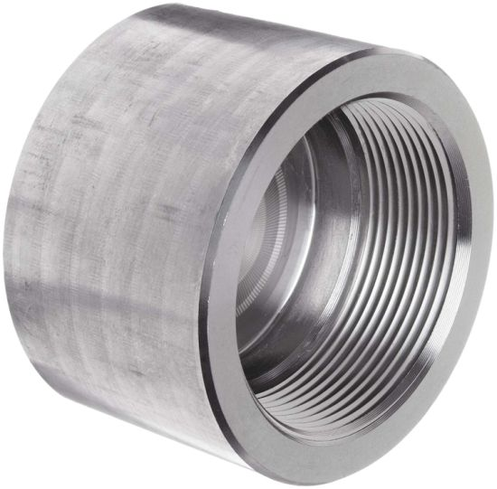 ANSI B16.11 Forged Stainless Steel 304 3/4inch Threaded Pipe Cap pictures & photos