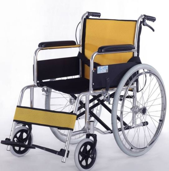 Manual 2.0mm Perfect Aluminum Alloy Chair Frame Wheel Chairs pictures & photos